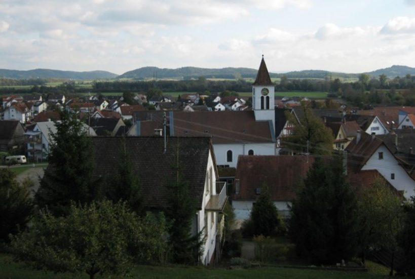 Aussicht auf Volkerthausen